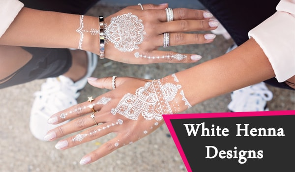 White Henna Designs: Eine innovative Übernahme traditioneller Körperkunst!