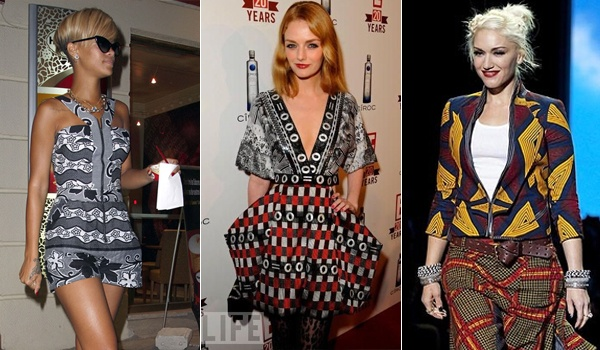 Hollywood Prominente in Ankara Prints machen Köpfe drehen