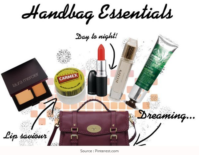 Das Must-Haves in Ihrer Handtasche! Handtasche Essentials Checkliste
