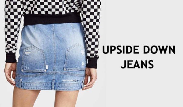 Do The Drill - Probieren Sie diese Upside Down Jeans gleich aus!